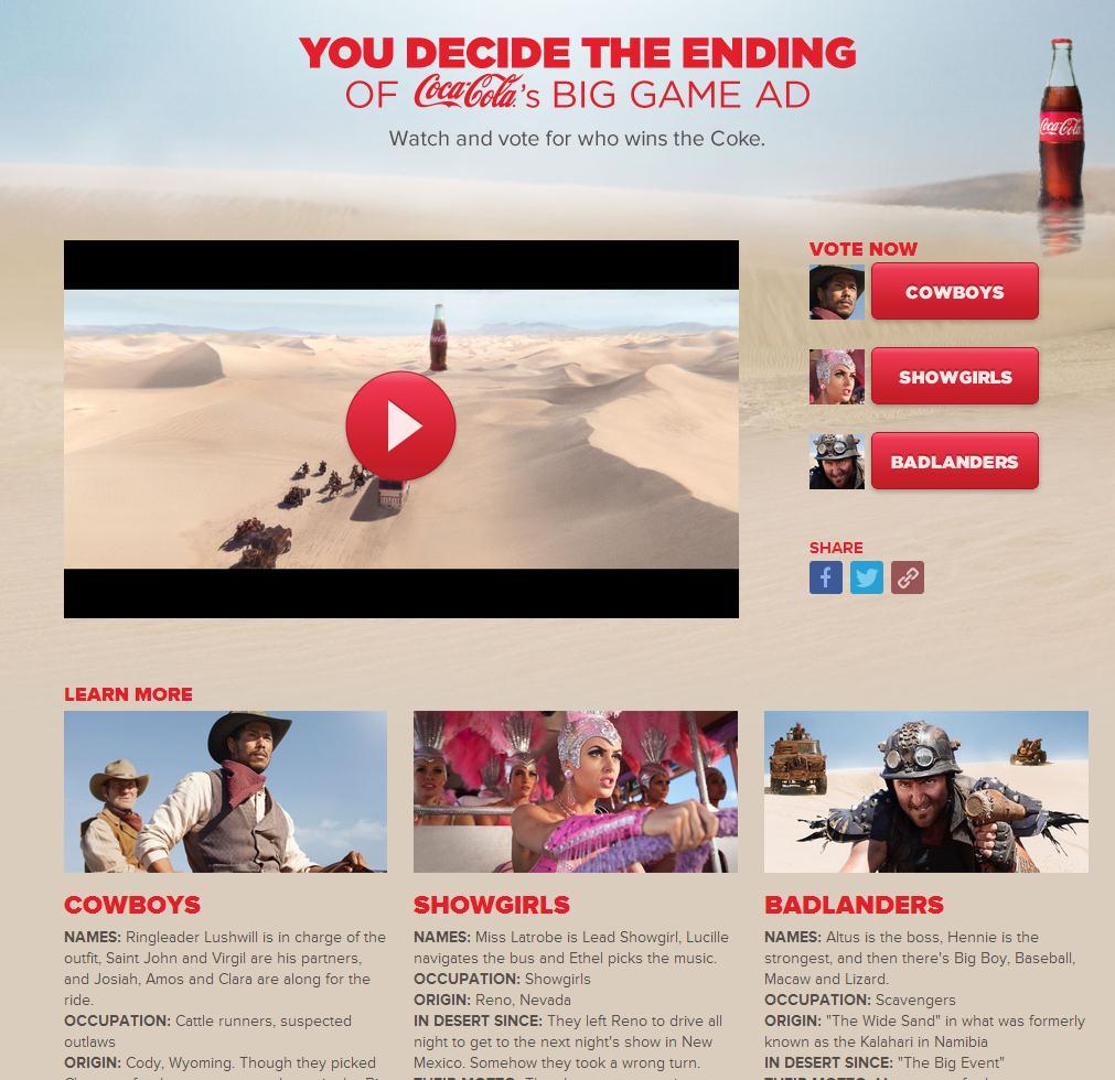 Coke chase campaign
