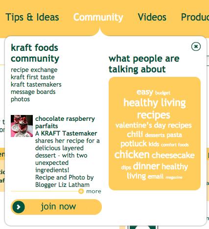 Kraft food crowdsourcing community 1